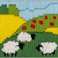 Prairie avec moutons  1652  Riolis