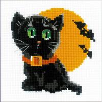 Chat noir  HB175  Riolis