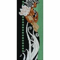 Africaine lady au fleurs  0008318  Lanarte