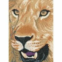Lion rugissant  0008323  LANARTE