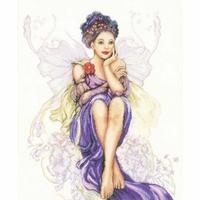 Fille Papillon Violet  0150005  Lanarte