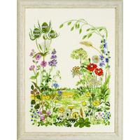 Fleurs des Champs - Permin 70-2316 - Kit Lin