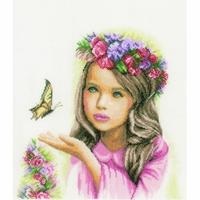 Fillette et Papillon  0164072  Lanarte