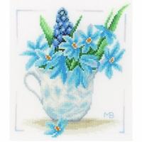 Fleurs Bleu  0164069  Lanarte