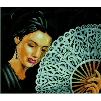 Woman With a Fan  0154330  Lanarte