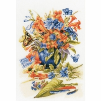 Vase avec fleurs  0156103  Lanarte