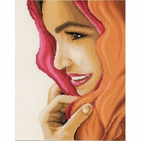 Femme avec un foulard  0156297  Lanarte