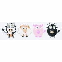 Taureau - Mouton - Cochon - Vache -  0008128  LANARTE