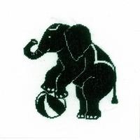 Éléphant du cirque  0144522  LANARTE