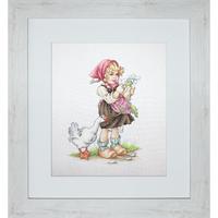 La petite fille et l oie  B1047  Luca-S