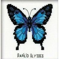 Papillon bleu  HB095  RIOLIS