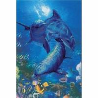 Groupe de dauphins  0014PT  RIOLIS