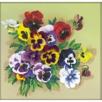 Bouquet de pensée   0059PT  RIOLIS