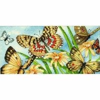 Vignette papillons  65055  Dimensions
