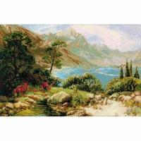 Paysage de Montagne  1397  Riolis