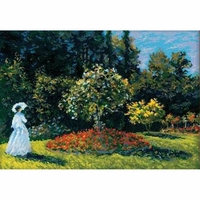 Femme dans le jardin  1225  Riolis