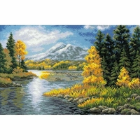 Lac de montagne  1235  Riolis