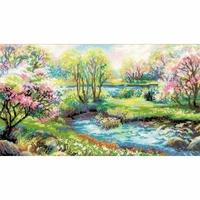 Paysage de printemps  1332  Riolis