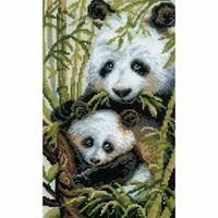 Panda avec Jeune   1159  Riolis
