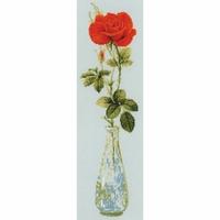 Rose rouge  1375  Riolis