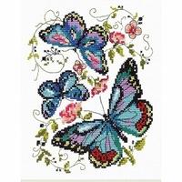 Papillons bleus  42-03  Chudo Igla