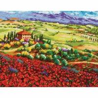 Coquelicots de Toscane  71-20084  Dimensions