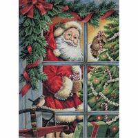 Candy Cane Santa  - Dimensions  08734