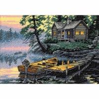 Lac au matin  65091  Dimensions