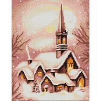 Eglise sous la neige  B401  Luca-S