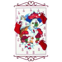Calendrier de l'Avent . Les Elfes font du thé - Permin 34-1545