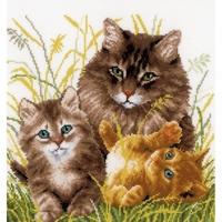 Famille de chats  0156114  Vervaco