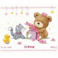 Ours et cadeau  0157028  Vervaco