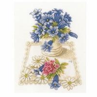 Fleurs bleu  0169670  Lanarte