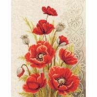 Bouquet de coquelicots  0146330  Vervaco