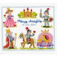 Chevaliers et princesses  0145975  Vervaco