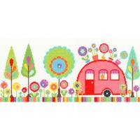 Funky Caravan - Bothy Threads - Code Bothy-XCR2