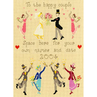 Wedding Sampler XWS1 Bothy Threads