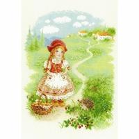 Le petit Chaperon rouge  1736  Riolis