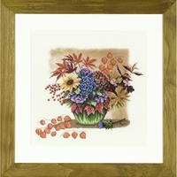 Bouquet d Automne - Kit Aïda - Lanarte PN-0008119