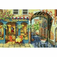 Charming Waterway  70-35306  Dimensions