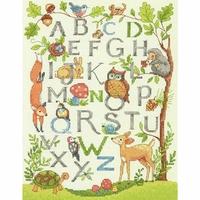 Alphabet terre boisée  70-35343  Dimensions