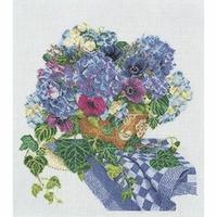 Hortensia et anémones  3025A  Thea Gouverneur