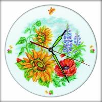 Horloge à fleurs  M40007  RTO