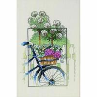 Bicyclette fleurie  92-5326  Permin of Copenhagen
