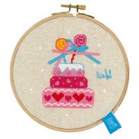 Gâteau d anniversaire - Vervaco  0150917