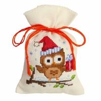Chouette avec un cadeau  0147603  Vervaco