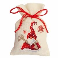 Santa avec  écharpe  0144319 Vervaco