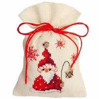 Santa avec lampe  0144300  Vervaco