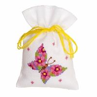 Papillon rose  0146852  Vervaco