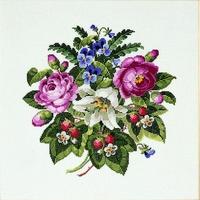 Bouquet de fleurs  70-4145  Permin of copenhagen